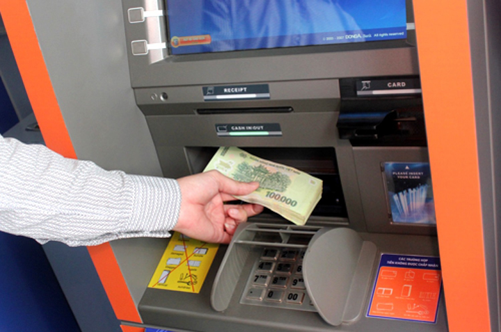 Cách nạp tiền vào thẻ atm vietinbank