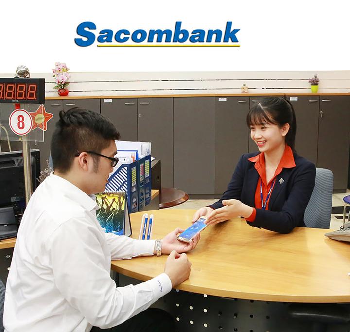 Gio làm việc Sacombank