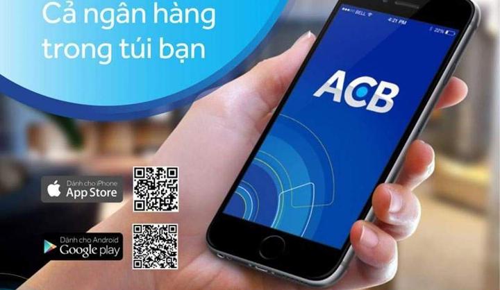 Biết số tài khoản ACB thông qua Internet Banking